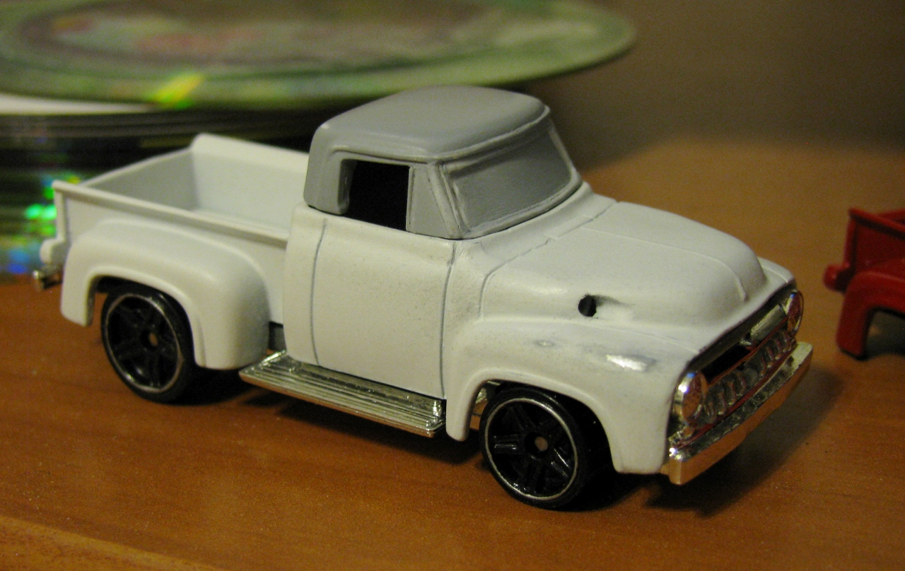The Expendables 1955 Ford F100 Interior