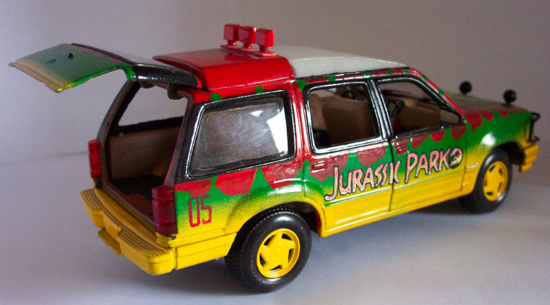 This Jurassic Park Explorer Is A Race Car