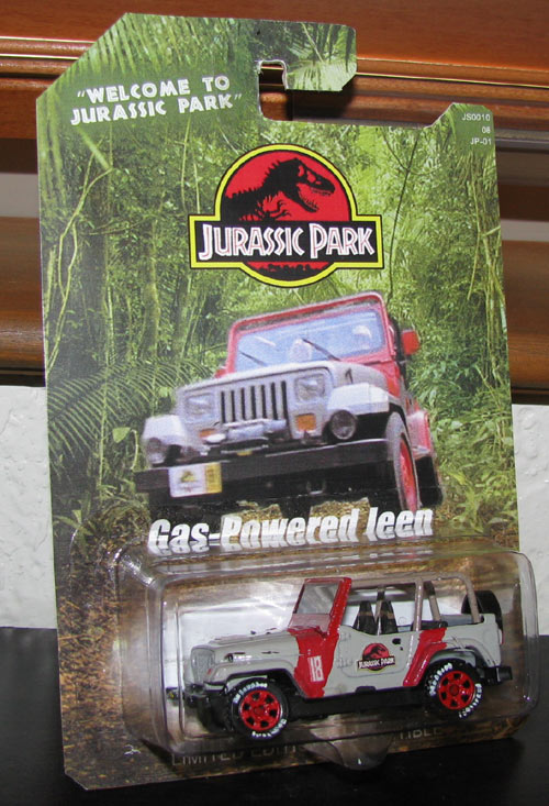 Custom Jeep Wrangler >> Jurassic Park Gas Powered Jeep Wrangler #18